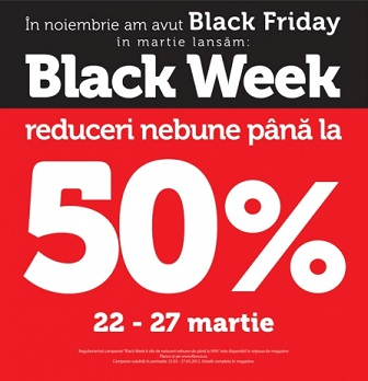 Black Week la Flanco, reduceri de 50%
