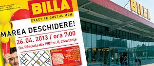 BILLA a deschis un nou magazin in Constanta