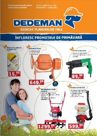 Noi oferte in catalogul Dedeman