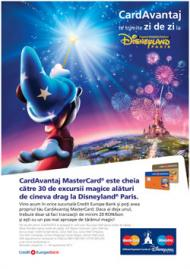 Cardul de credit de la Credit Europe Bank te trimite la Disneyland Paris